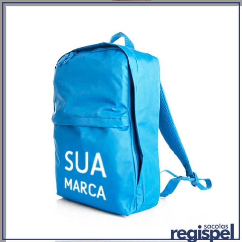03ae09d00 Encomendar Mochila Promocional Personalizada com Logo São Mateus - Mochila  Promocional Barata