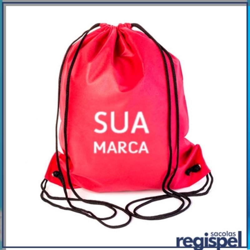 84aa48581 Mochila Promocional com Logo Preço Jardim Iguatemi - Mochila Promocional  Tipo X