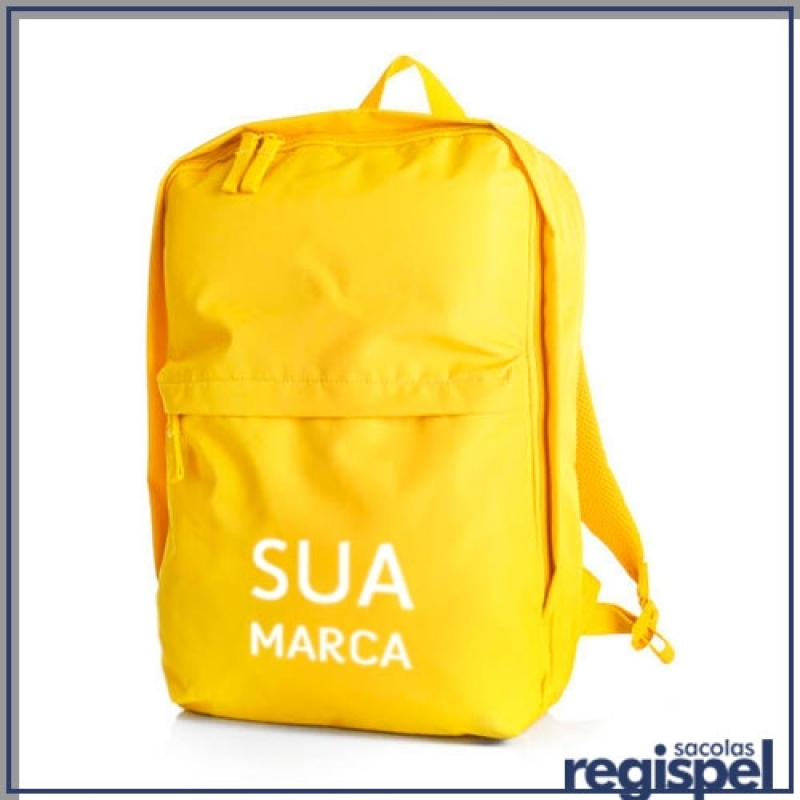 cf40d377a Valor de Mochila Promocional Personalizada Bairro do Limão - Mochila  Promocional com Logomarca